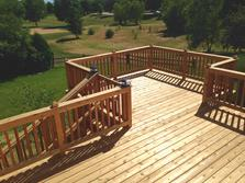 Bolingbrook, Illinois deck 2015 (after) A Affordable Decks