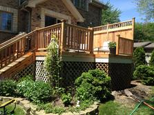 Cedar deck Clarendon Hills (after) 2015 A Affordable Decks