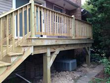 (after) Downers Grove Illinois deck by A Affordable Decks 2015