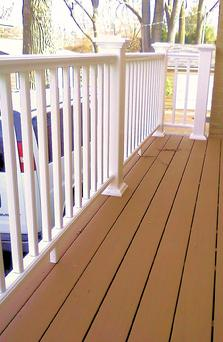 Railing Styles Available From A Affordable Decks