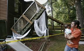 """Deck collapses are on the rise"". A-Affordable Decks in Lombard, Illinois"